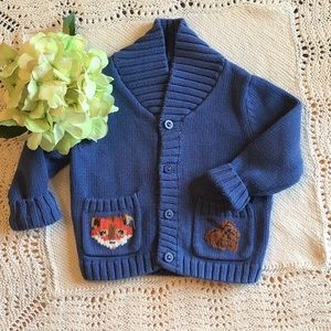 Lands' End Baby Sweater